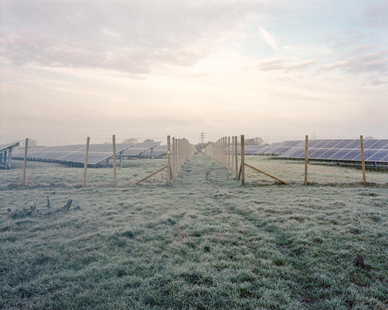 Solar Farm, Lydiard Tregoze, 2016